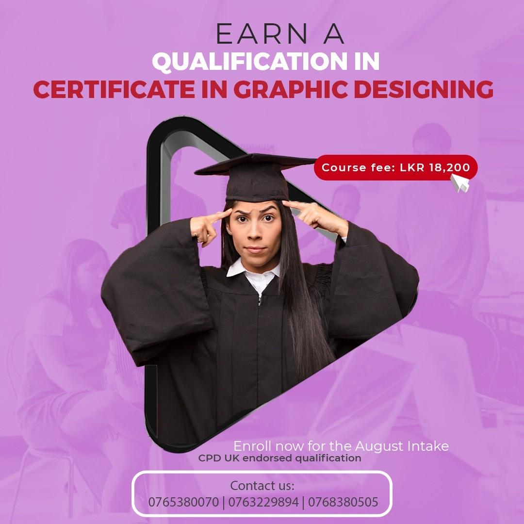 Certificate in Graphic Designing - August Intake