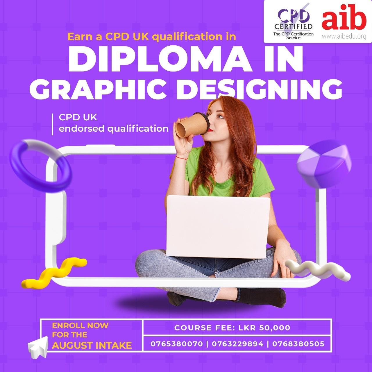 Diploma in Graphic Designing - August Intake