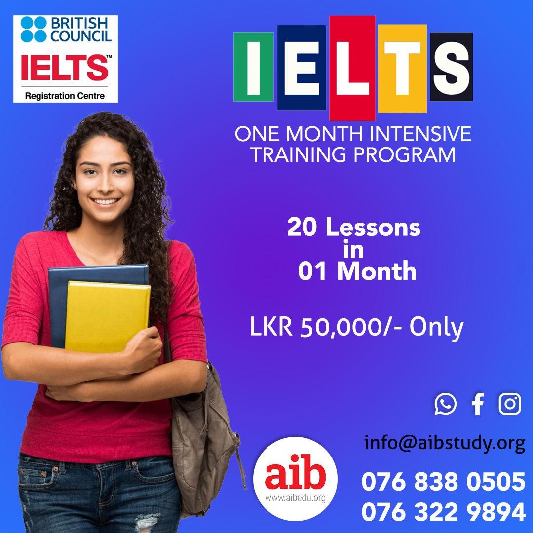 IELTS Intensive Training Program