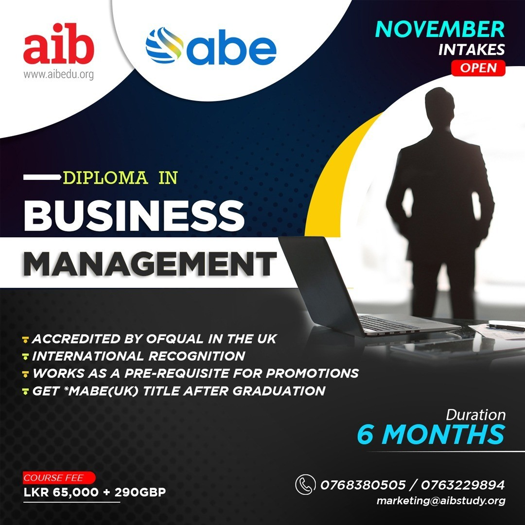 ABE Diploma in Business Management L6 (RQF)