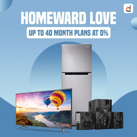 Create a beautiful home with our amazing Home Appliance Collection! Enjoy up to 40-month instalment plans with zero interest!