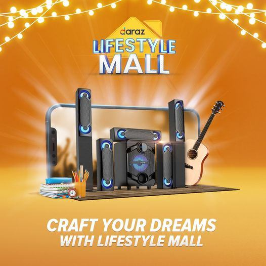 It's time to craft your dreams with Lifestyle Mall! Enjoy up to 60% off on a range of music equipment, stationery & craft items & many more products!