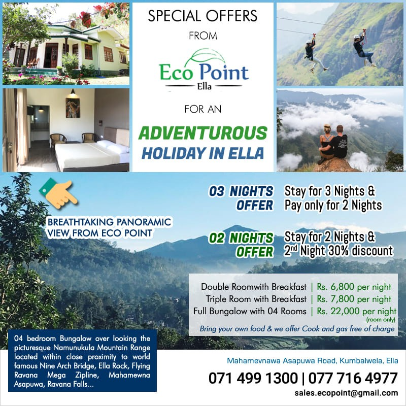 Enjoy the comfort and Freedom @ Eco Point Ella