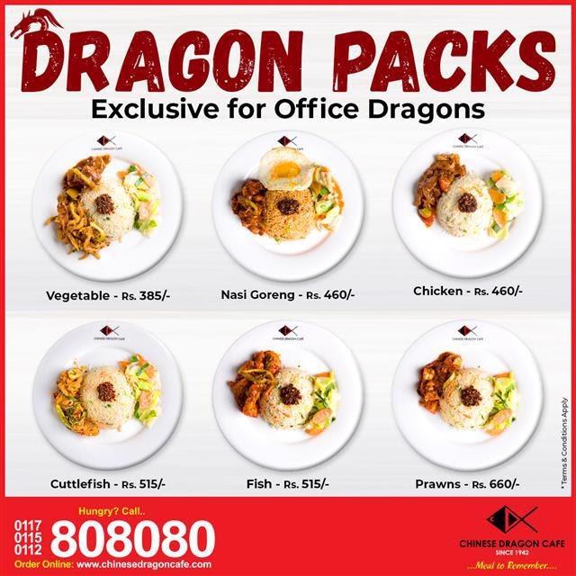 Dragon Packs for Office Dragons!