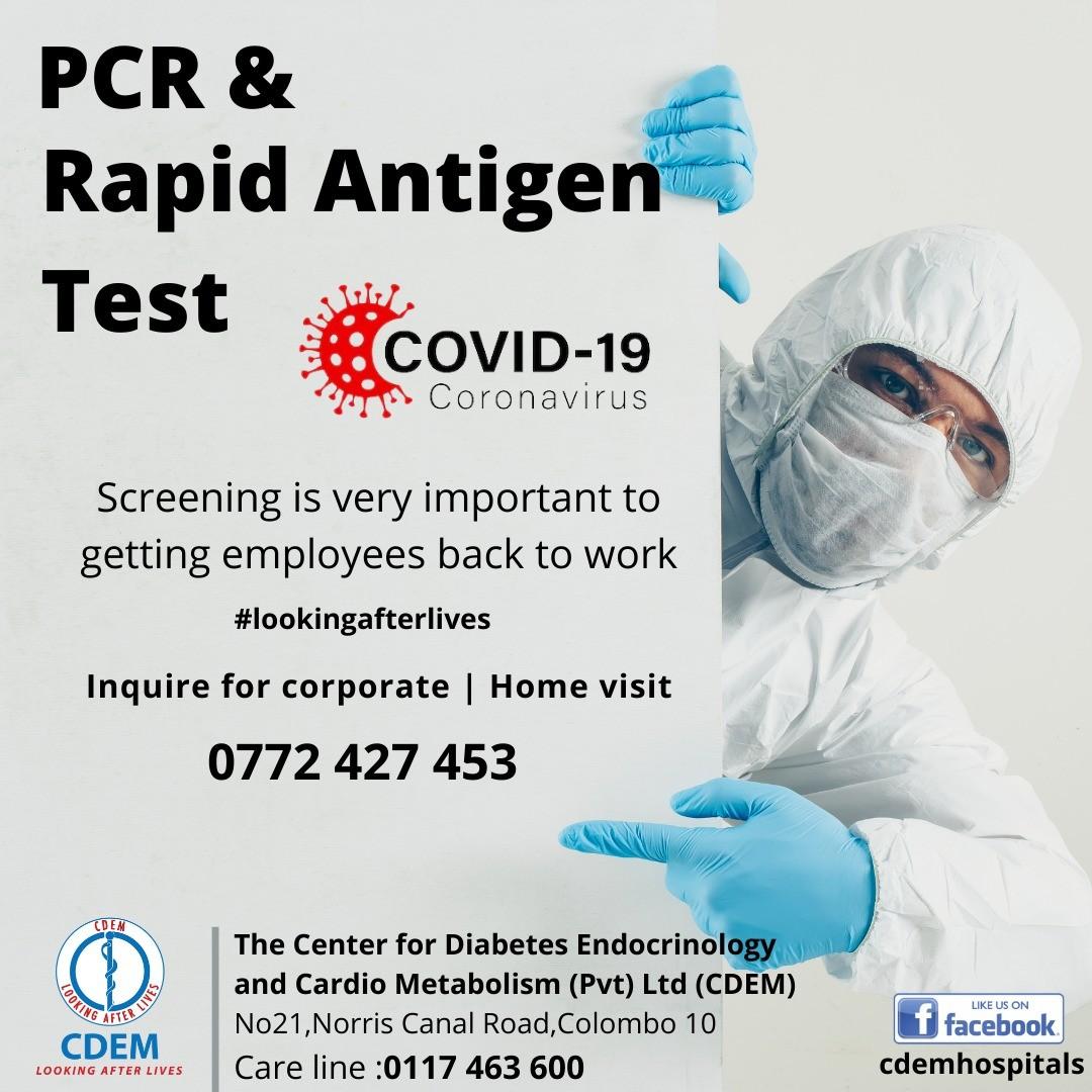 PCR & Rapid Antigen Test