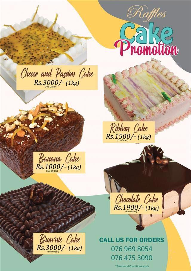 Raffles Cake Promotion
