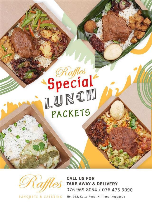 Raffles Special Lunch Packets