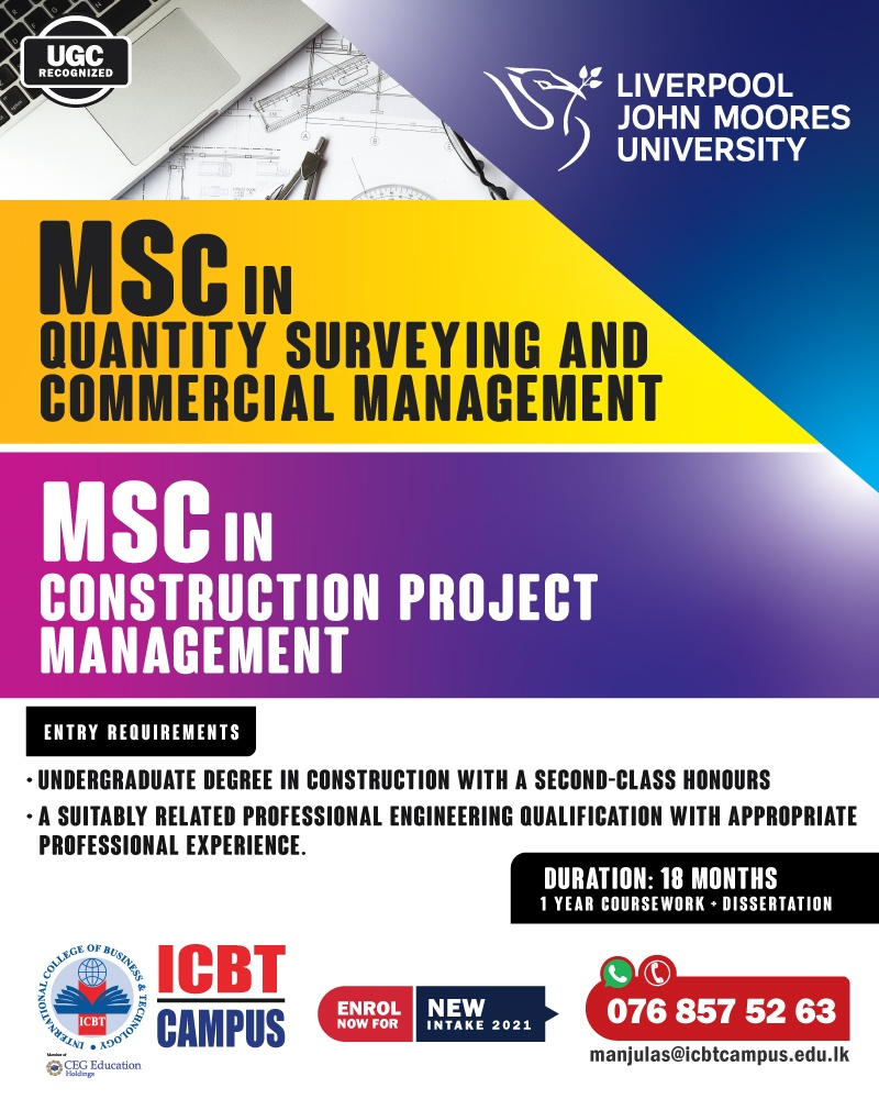 Elevate your Qualification by obtaining globally recognized Master's Programmes in the field of Construction