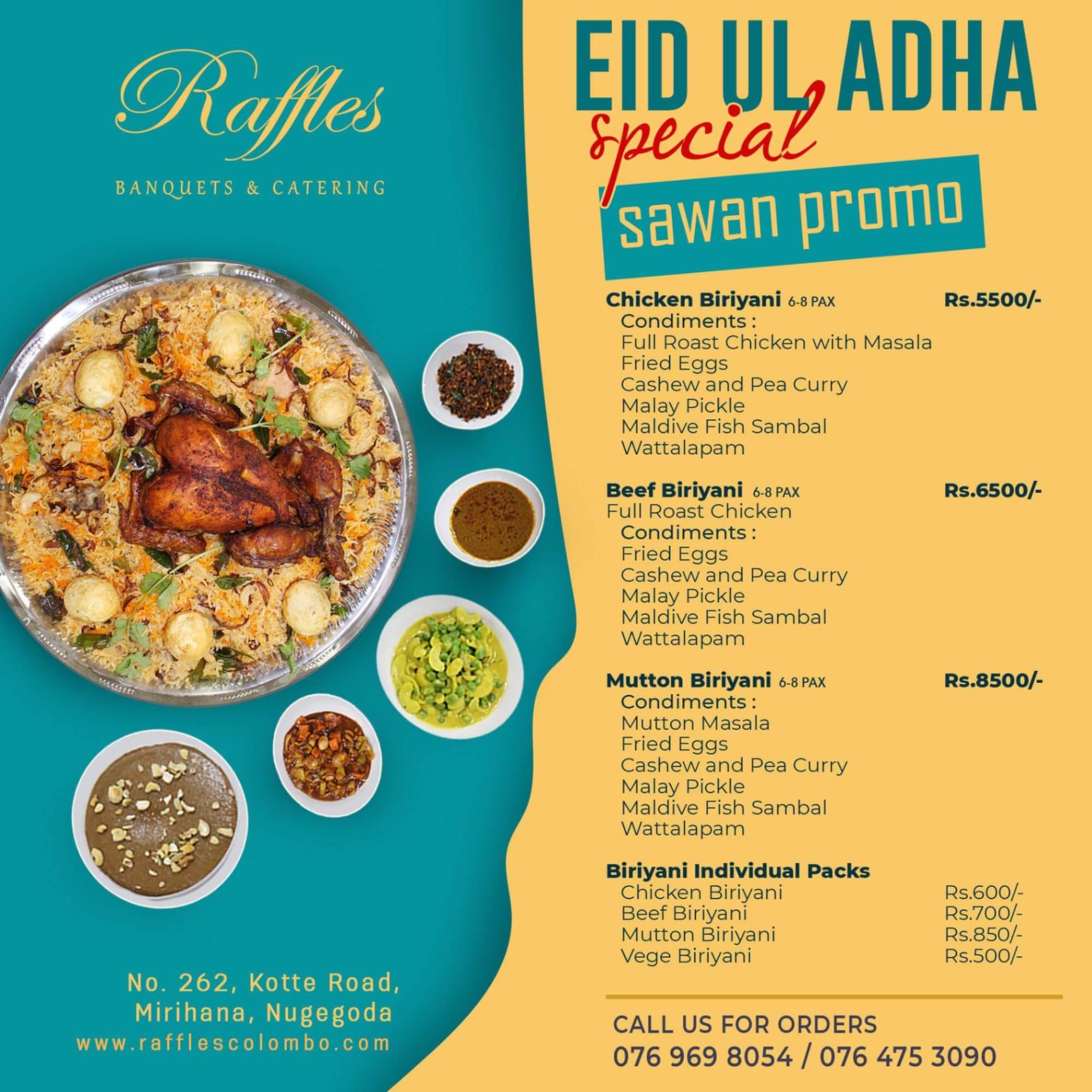 Eid Ul Adha Special Sawan Promotion
