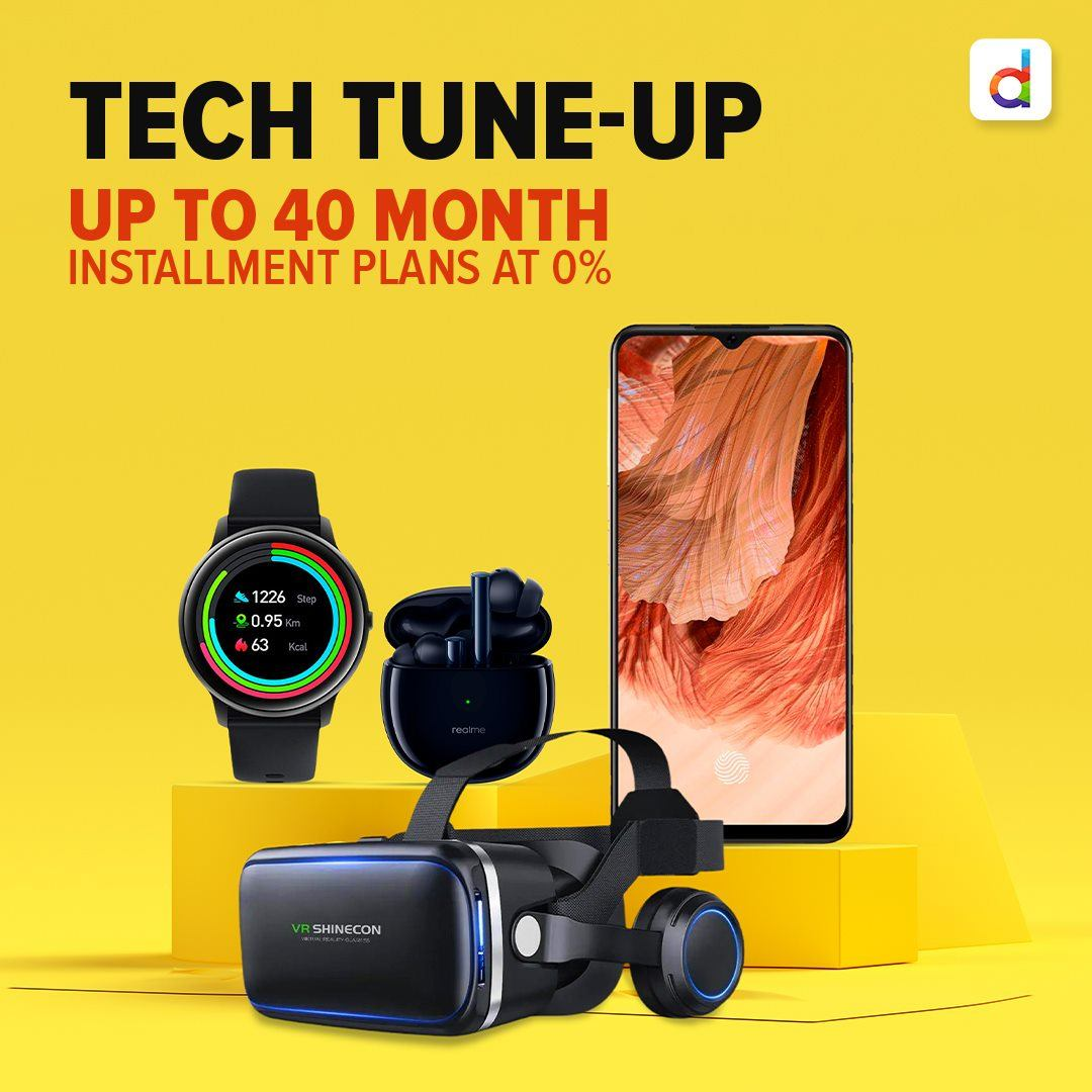 Grab amazing deals on a range of tech gadgets! Up to 40-month instalment plans at 0% interest!