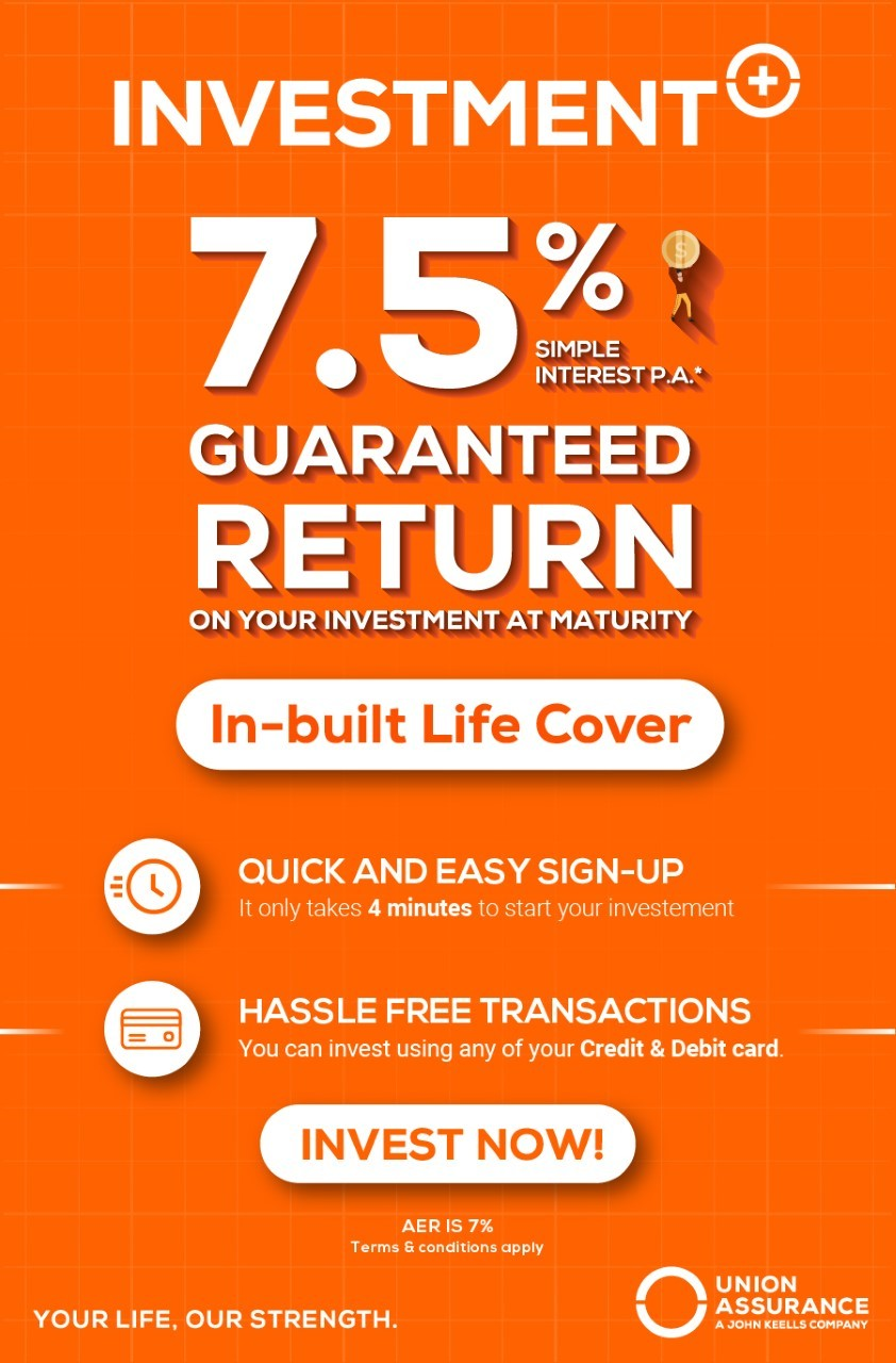 Guaranteed return of 7.5% p.a and an in-built life cover at your fingertips
