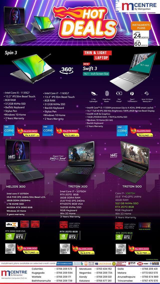 Hot Deals for Acer Laptops