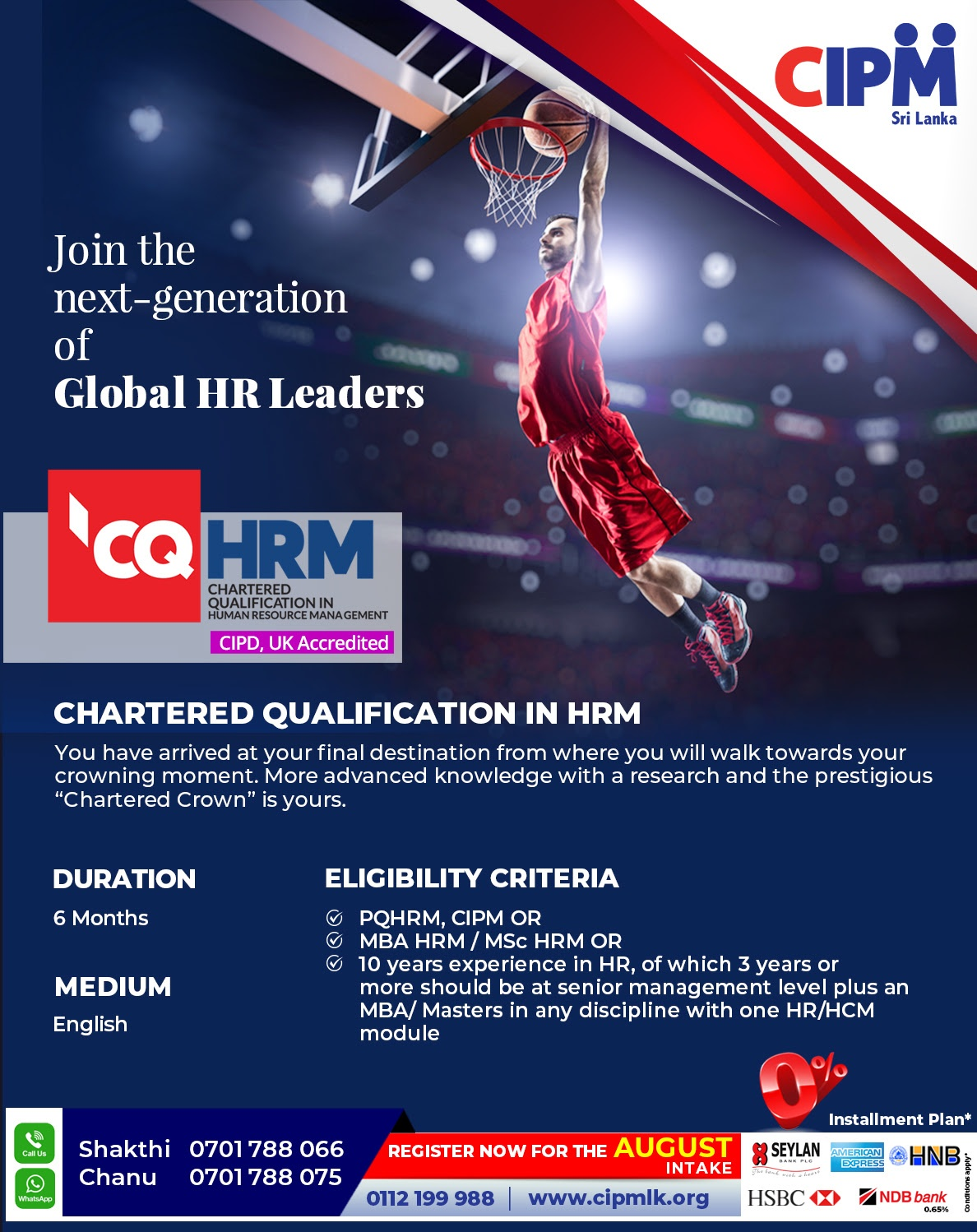 Join the next generation of Global HR Leaders