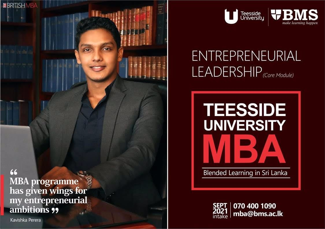 Get the MBA that will give wings to your Entrepreneurial leadership ambitions with BMS