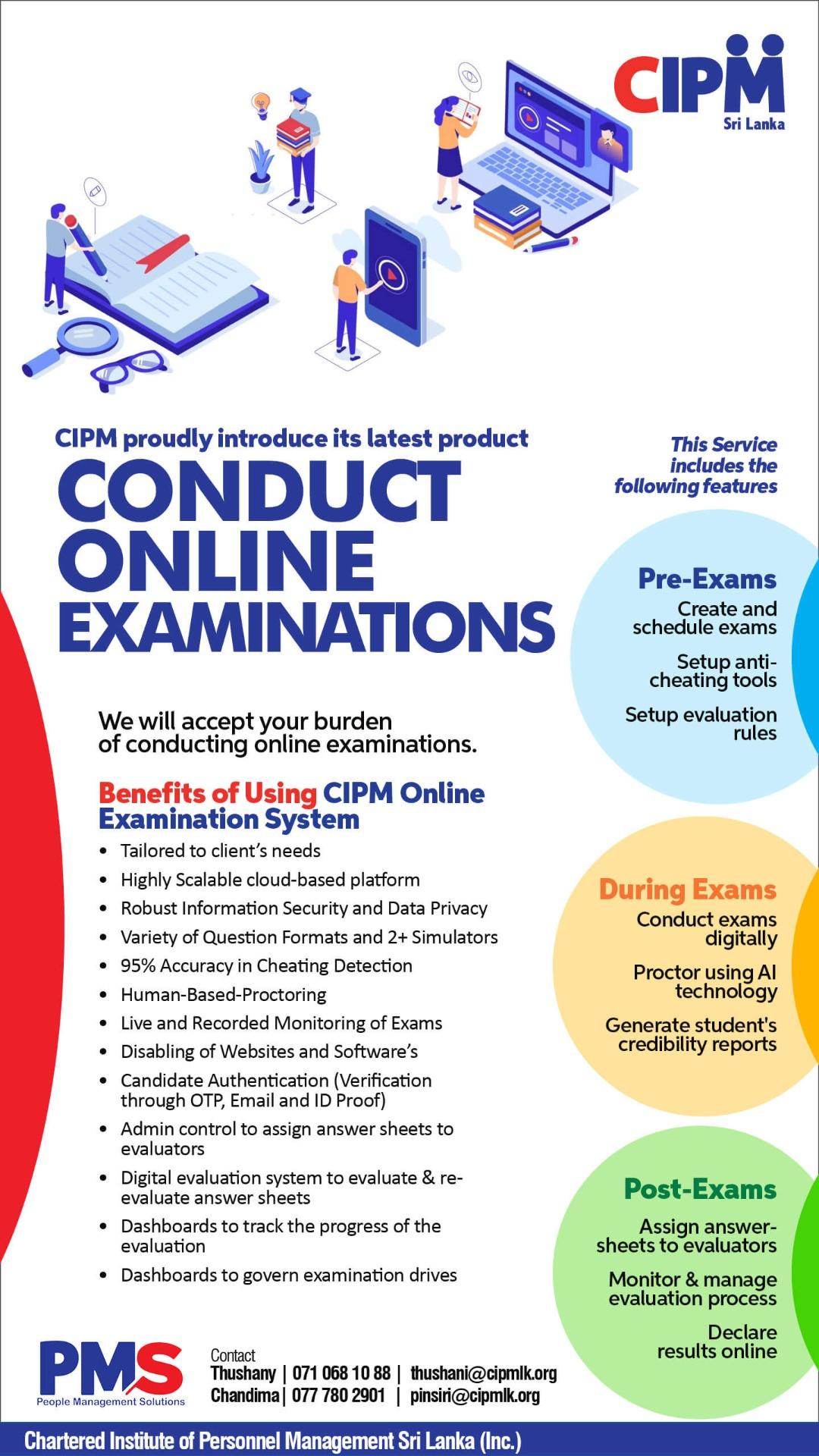 We will accept your burden of conducting an online examination
