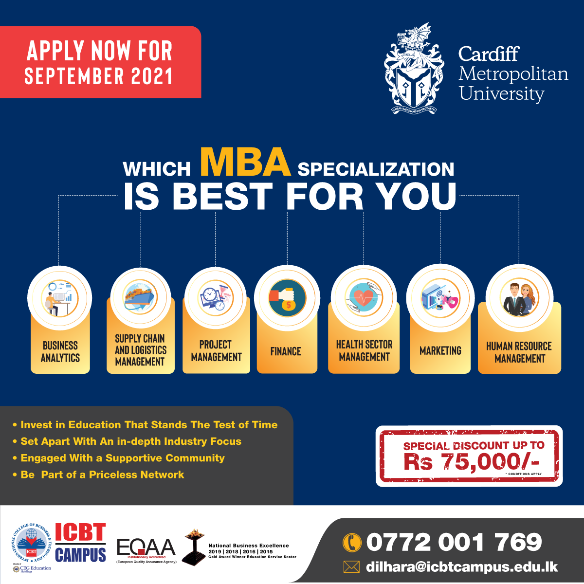 Transform Yourself with Cardiff Met - MBA
