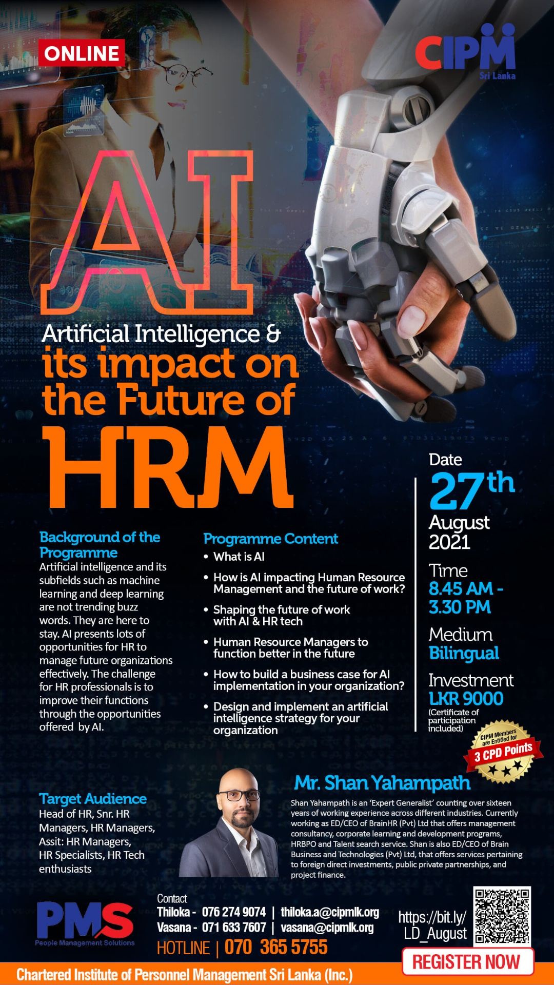 Artificial Intelligence and its impact on the Future of HRM