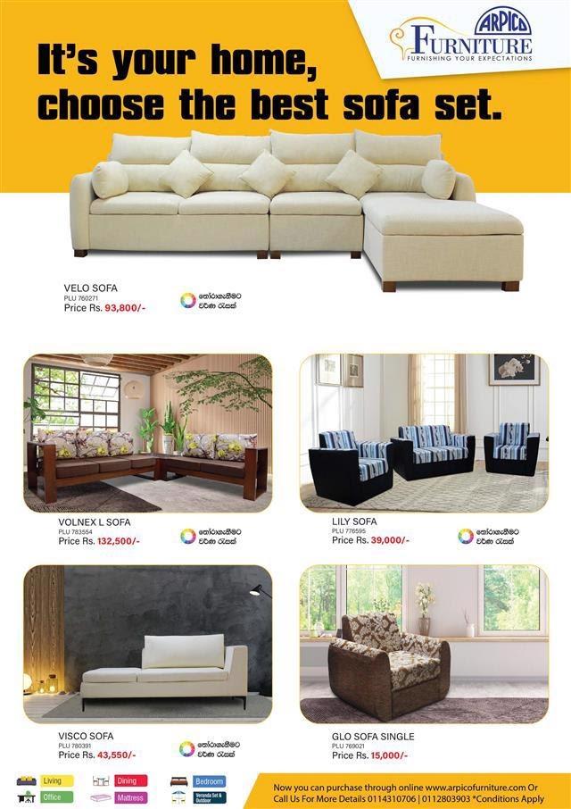 Arpico Furniture New Sofa Arrivals