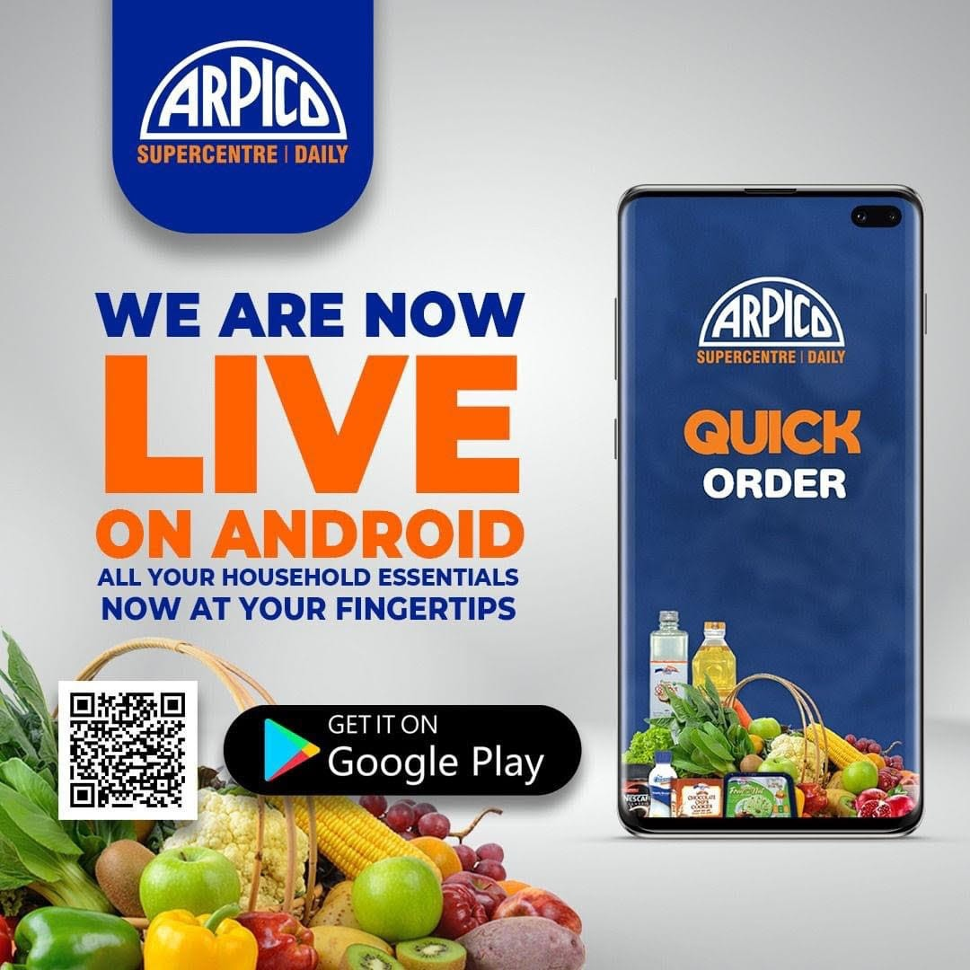 Arpico quick order app