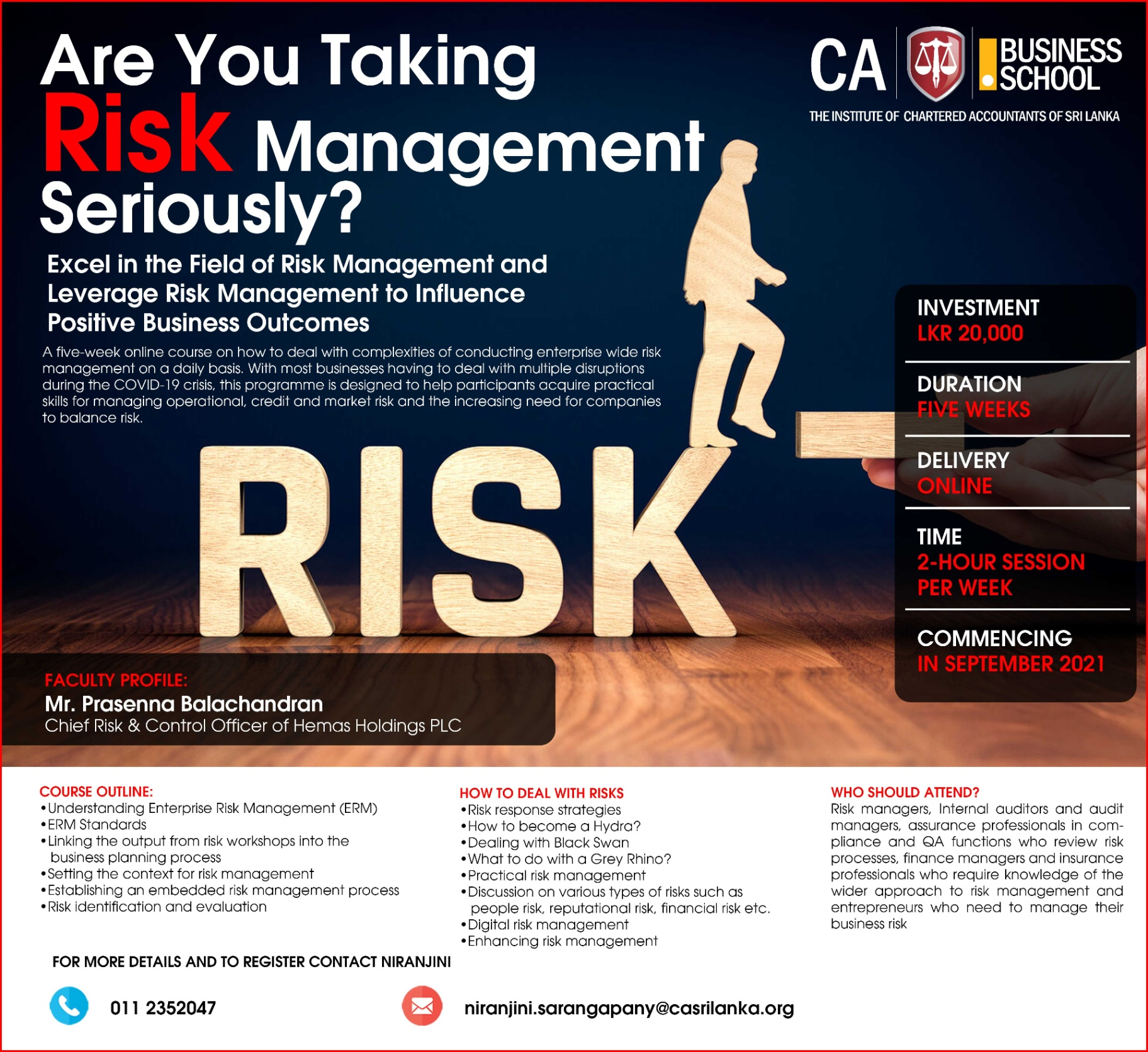 Are you taking Risk Management Seriously