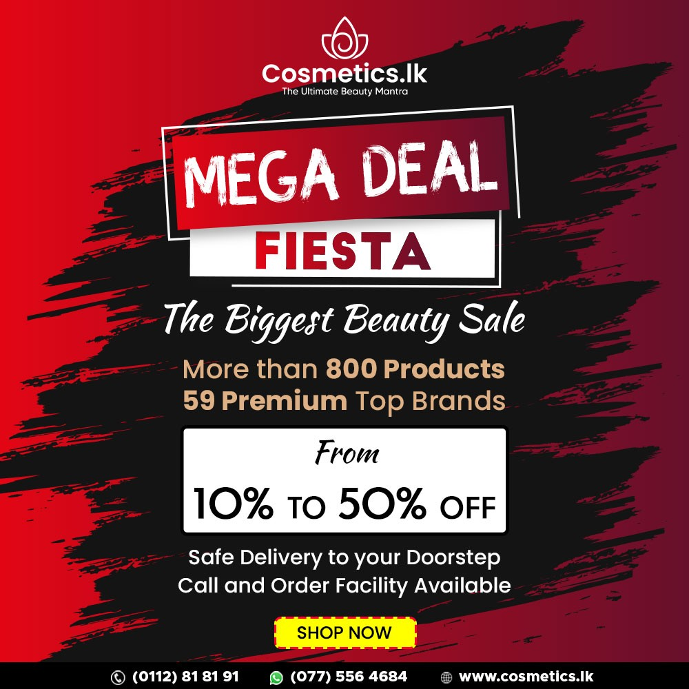 The Biggest Beauty Sale is Happening now at Cosmetics.lk