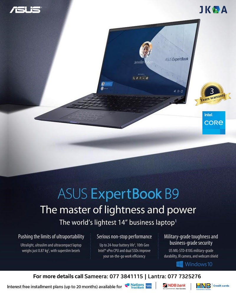 Get the Job Done Effortlessly with ASUS ExpertBook B9 from JKOA