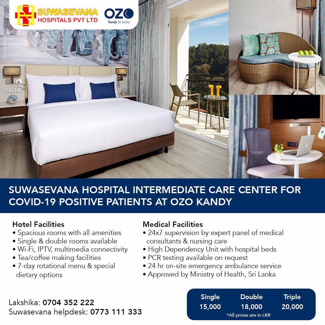 Suvasewana Intermediate Care Center at OZO Kandy