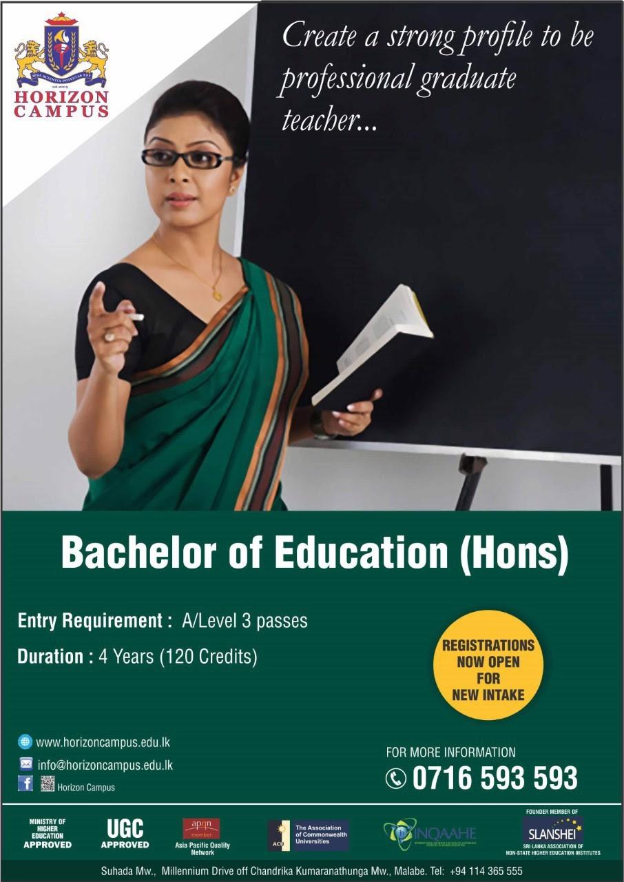 Bachelor of Education (Hons)