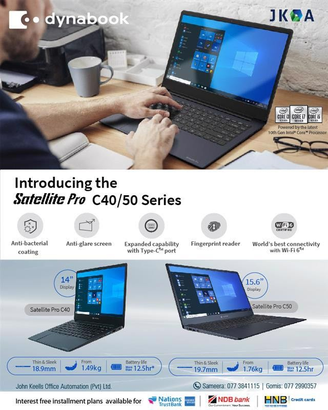 Effortlessly portable and budget-friendly Dynabook laptops from JKOA