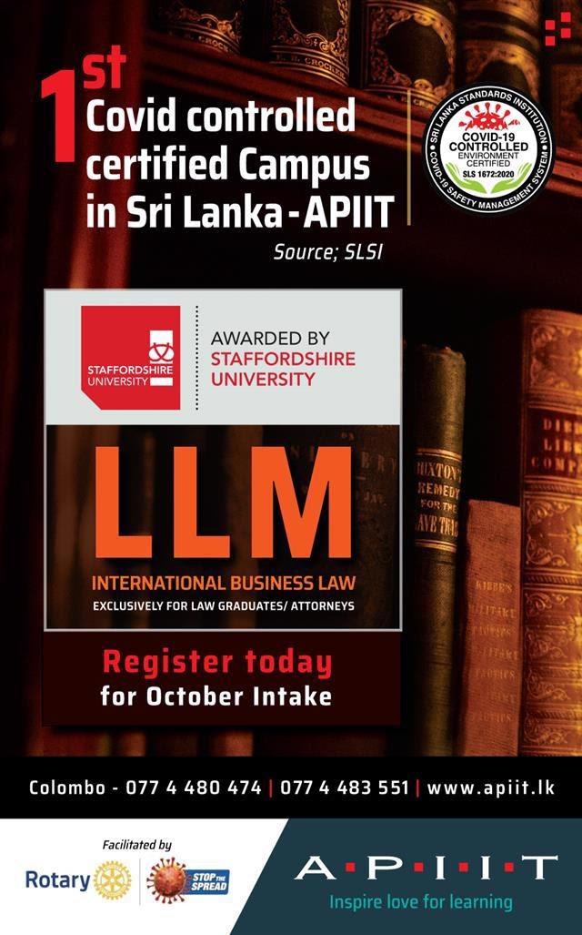 Get a British LLM from Staffordshire University!