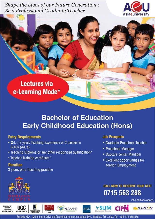 B.Ed (Hons) Early Childhood Education