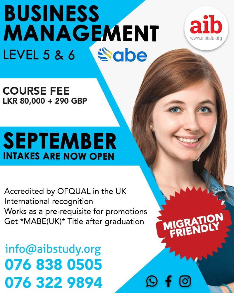 ABE Diploma in Business Management L5 & L6 (RQF)
