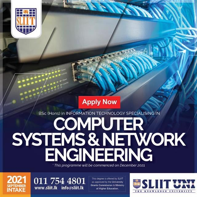 Computer Systems & Network Engineering Degree at SLIIT