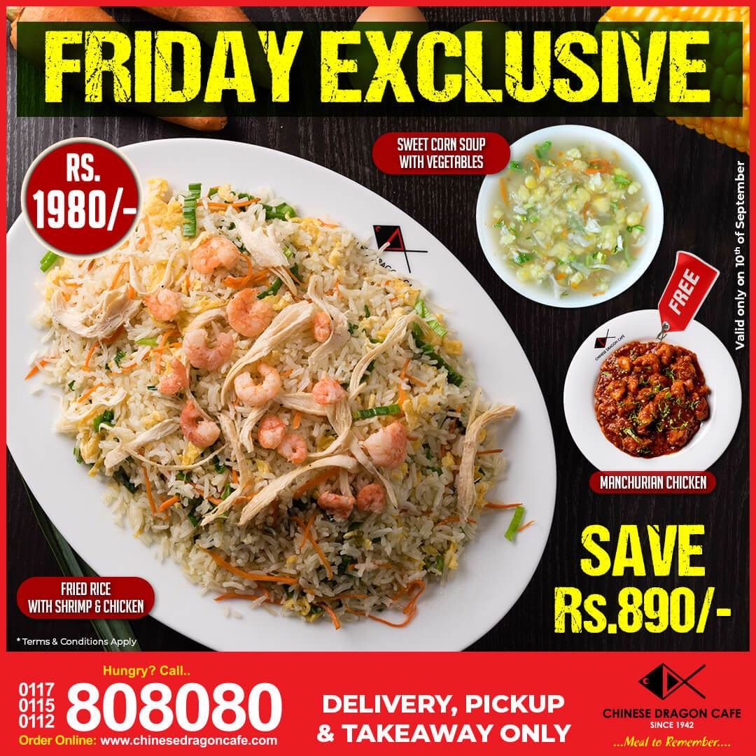 Save Rs. 890 with Friday Exclusive!