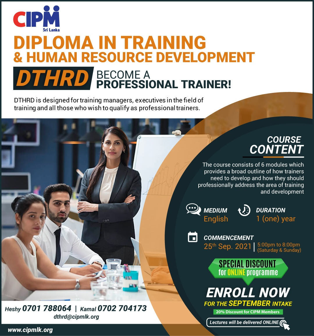 Become a Professional Trainer!