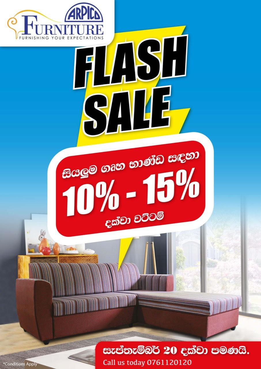 Arpico Furniture Flash Deals