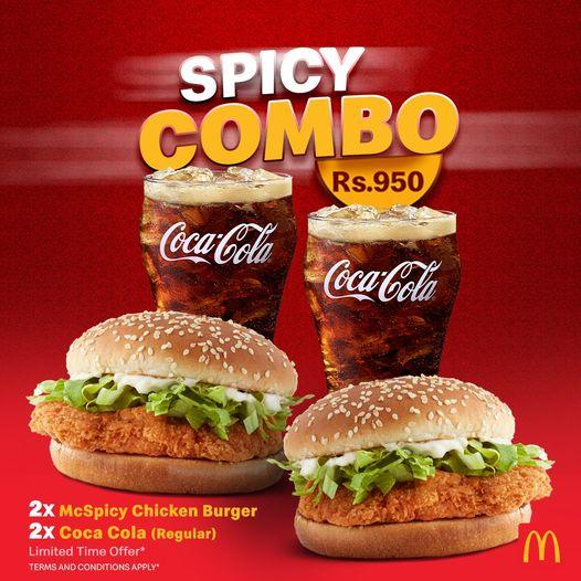 Spicy Combo For Just Rs.950