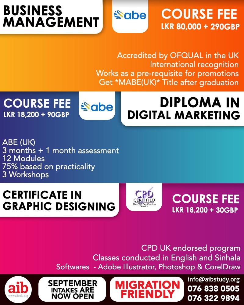 Study UK Programmes with AIB