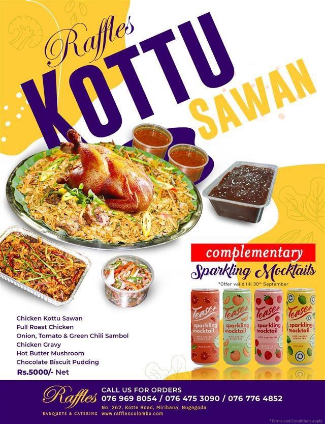 It's time to get your Kottu Sawan delivered!
