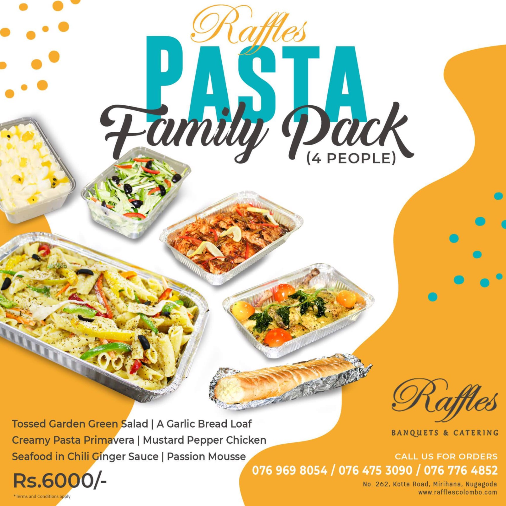 Have you tried our Pasta Family Pack?