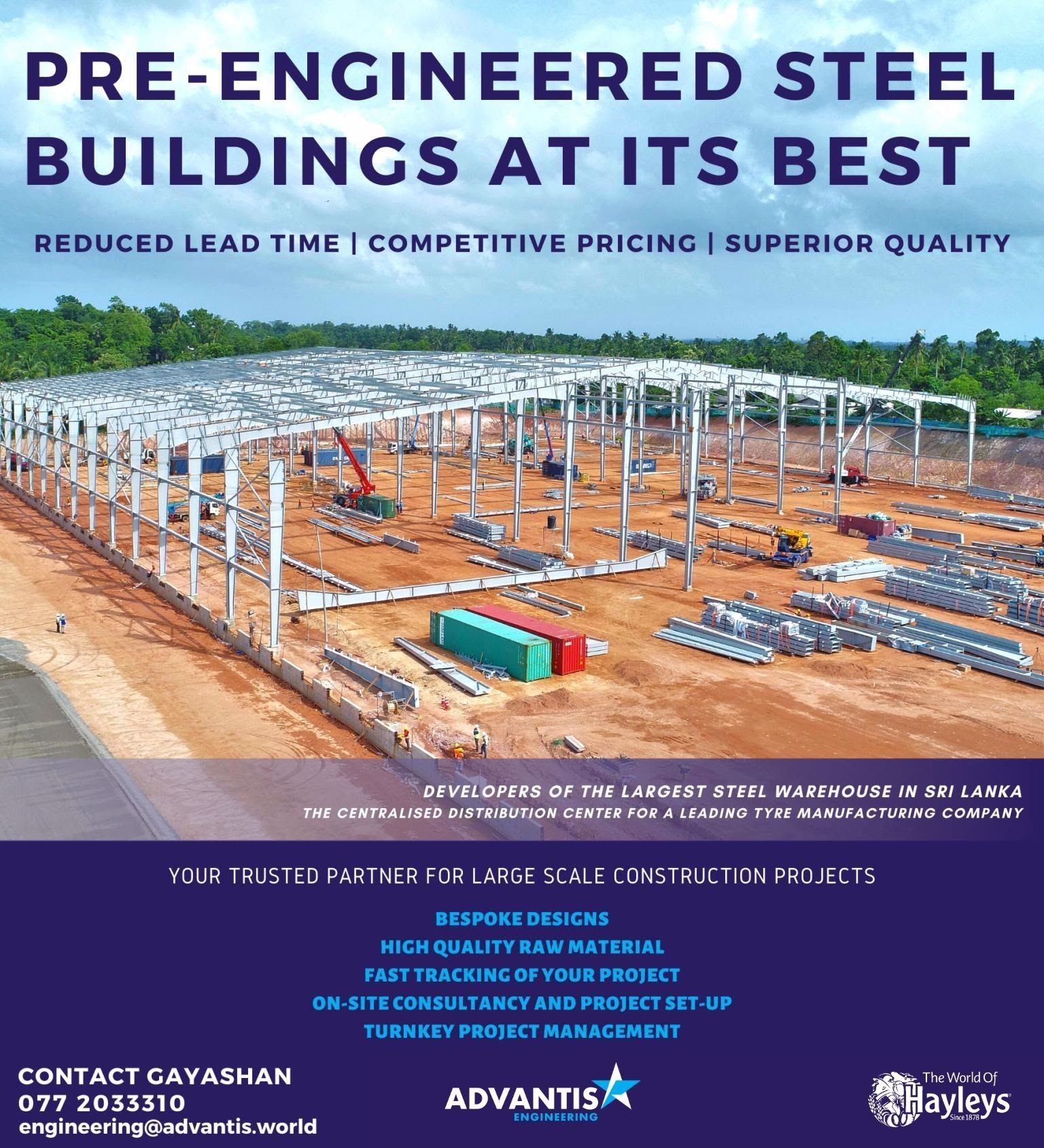 Pre-Engineered Steel Buildings from Advantis Engineering!