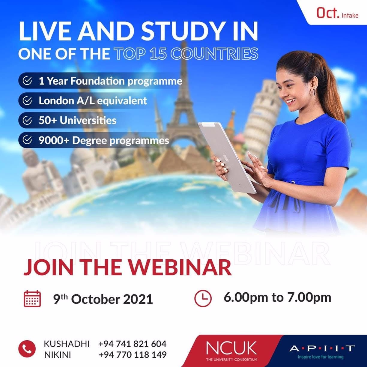 NCUK - Your Best Route to University – A World of Options!