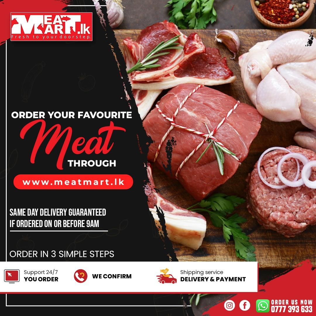 Order your favorite meat through www.meatmart.lk
