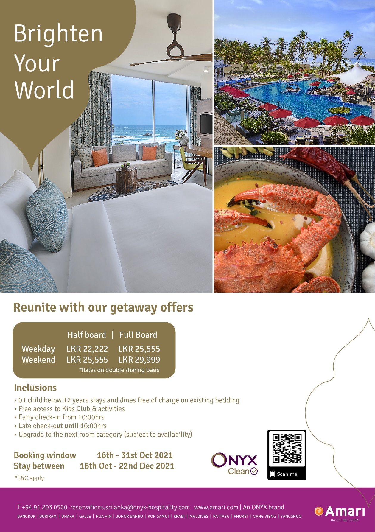 Reunite with our getaway offers