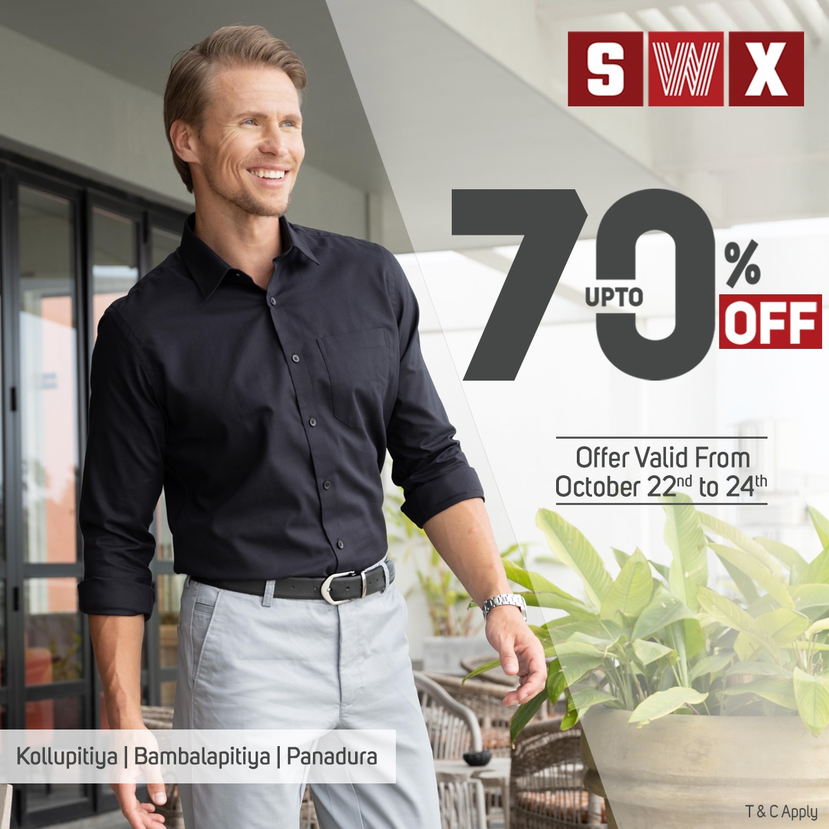 FLASH SALE! Up to 70% Off at SWX