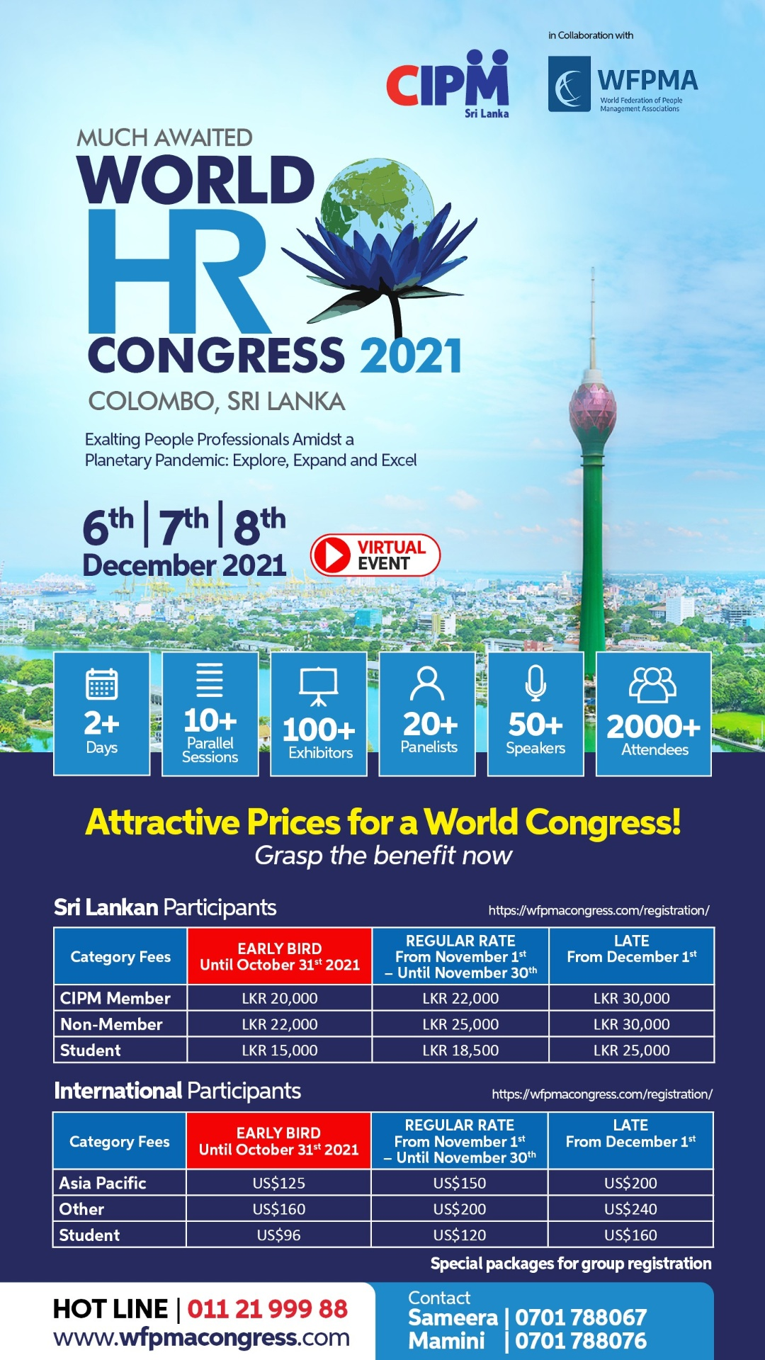 Register Now for the World HR Congress 2021
