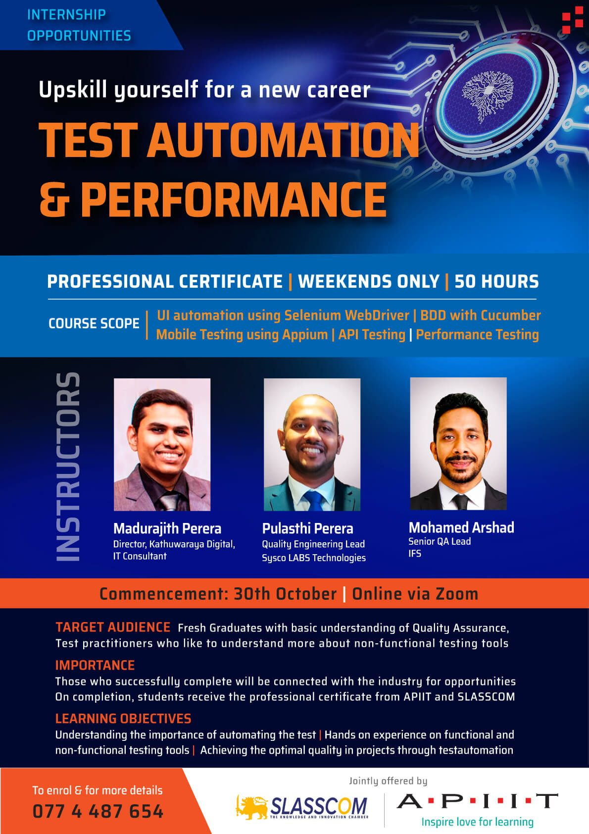 Get Test Automation Certification and Start A New Carrier!