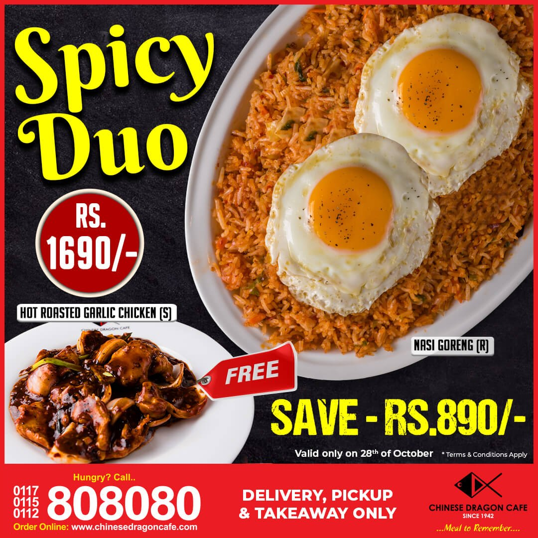 Spicy Duo! (Today Only)